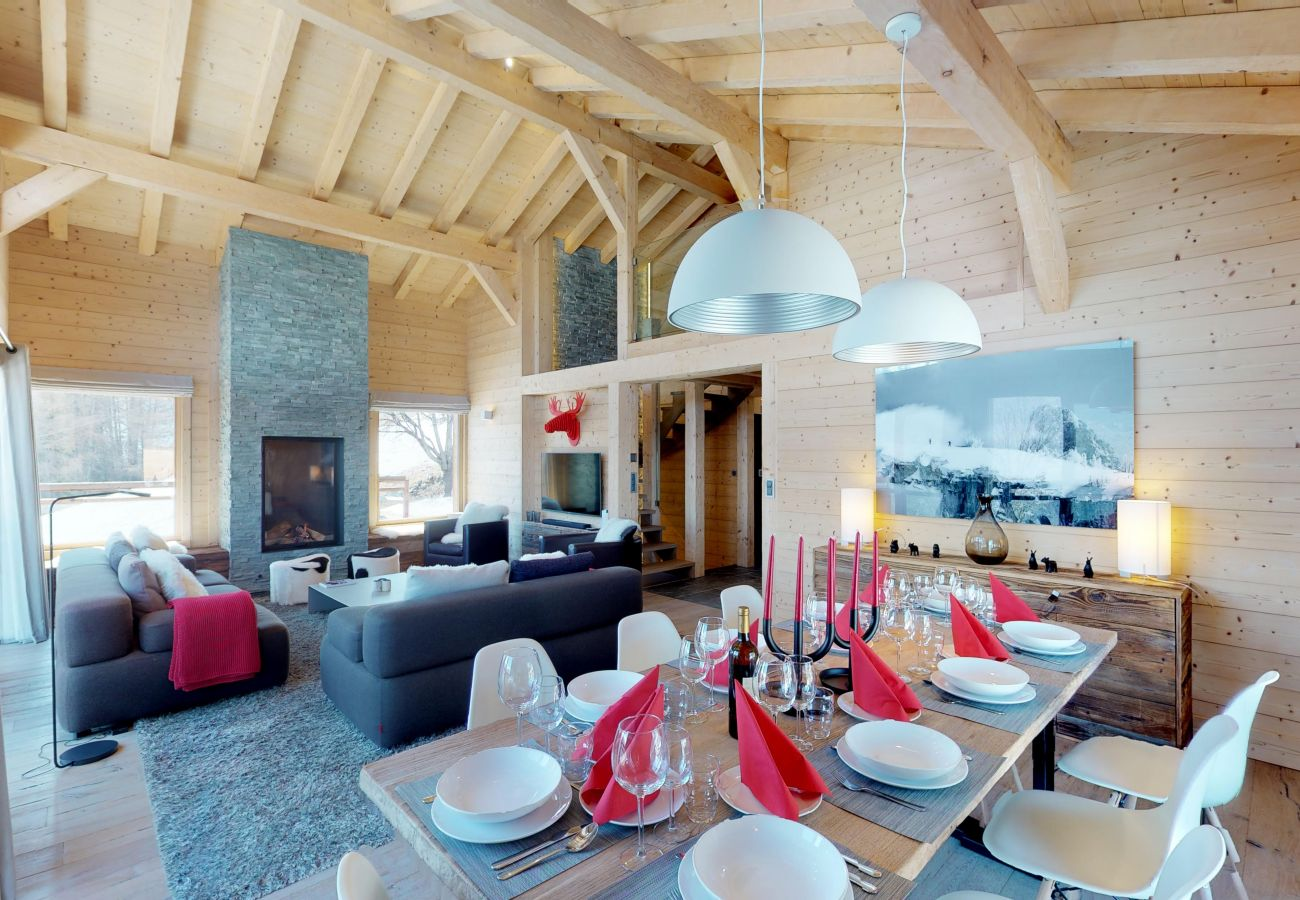 Chalet in Les Masses - Be Cool SAUNA & LUXURY chalet 10 pers