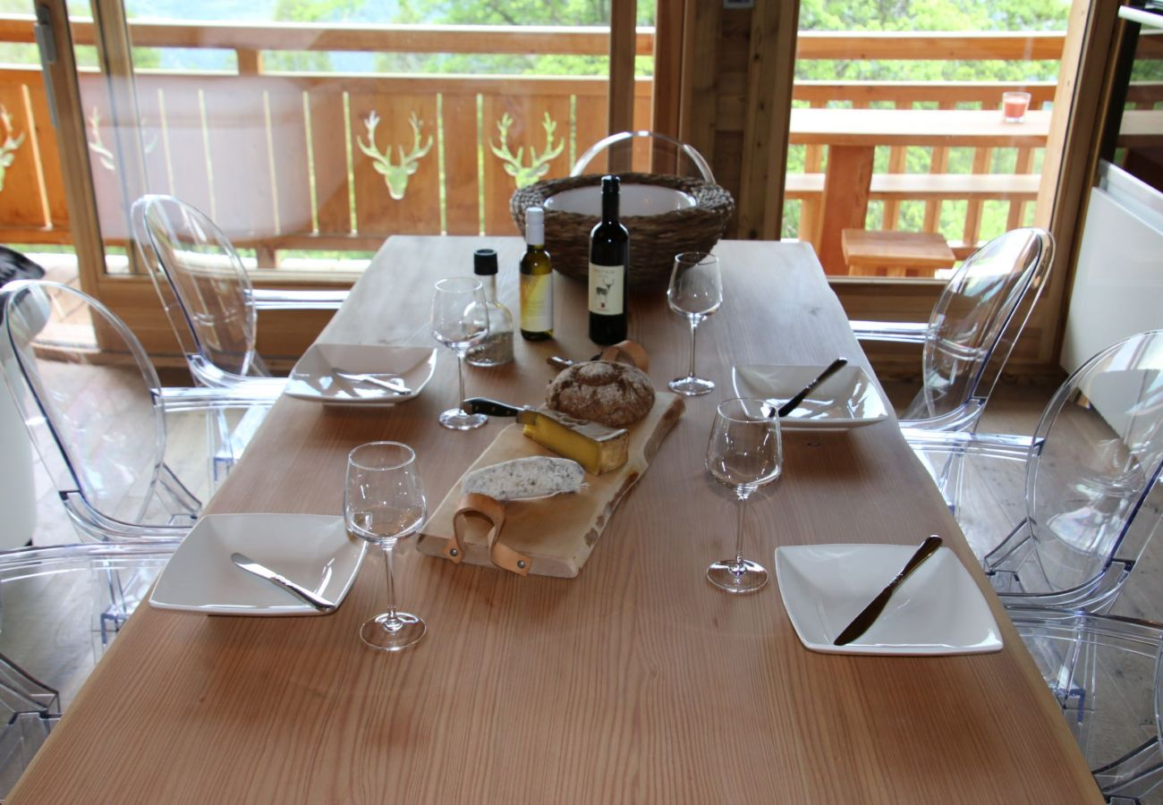 Chalet in Les Masses - Skyfall CHARMING & LUXURY chalet 6 pers