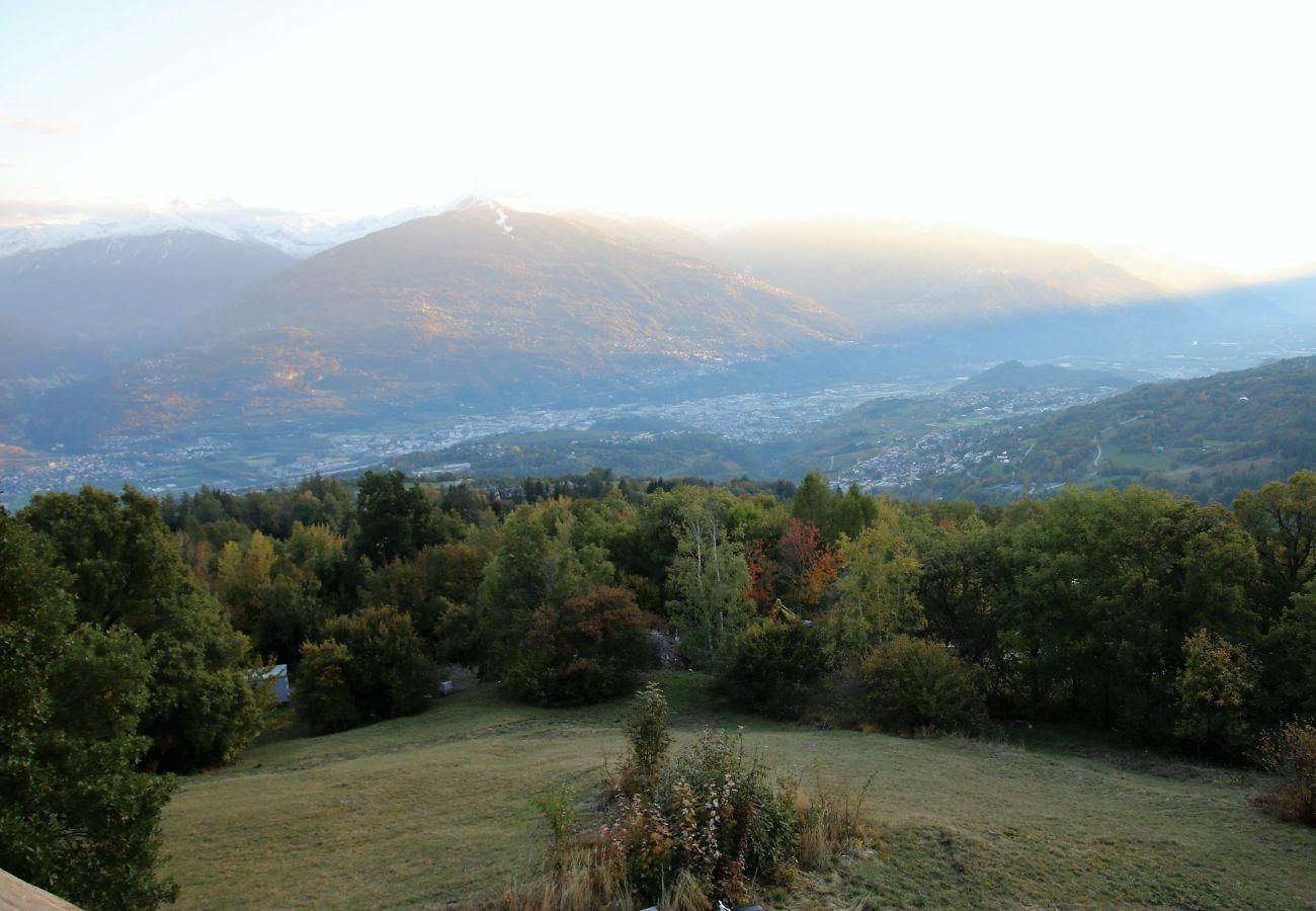 Chalet in Arbaz - Dream COSY & QUIET chalet 9 pers